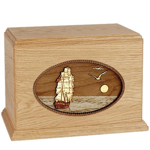 Sailing Home Maple Companion Urn