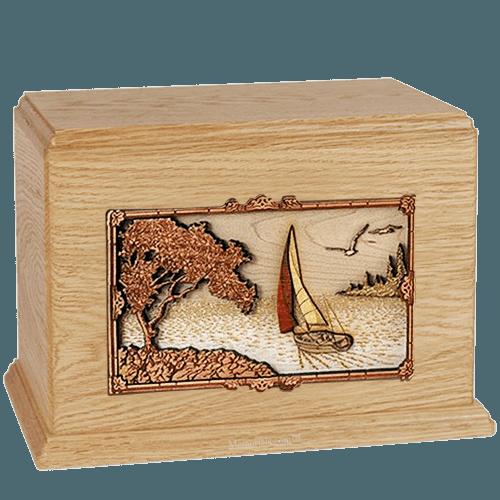 Sailing Maple Companion Urn
