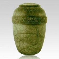 Tranqulity Green Alabaster Cremation Urn