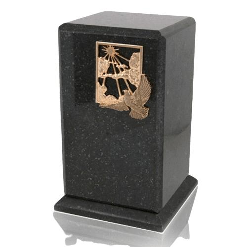 Grande Cambrian Black Granite Cremation Urns