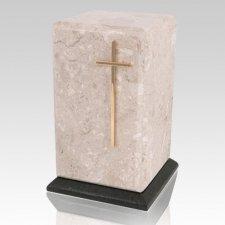 Grande Perlato Marble Urn