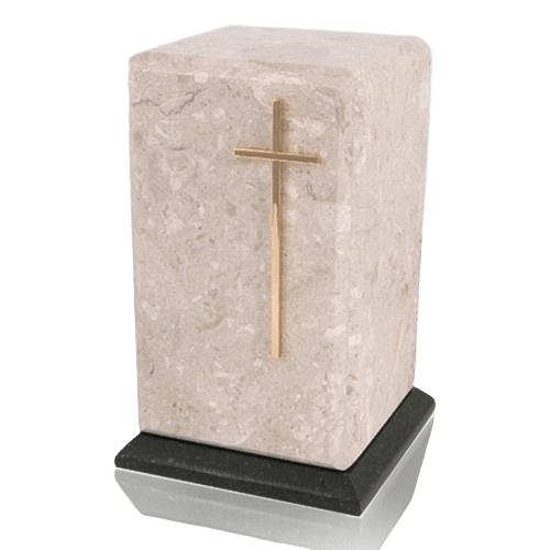 Grande Perlato Marble Cremation Urns