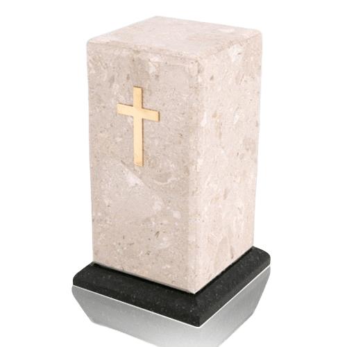 Stylus Perlato Marble Cremation Urn