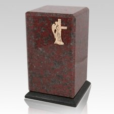 Grande African Red Granite Cremation Urns