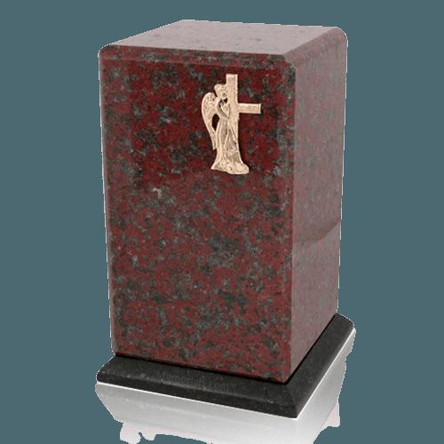 Grande African Red Granite Cremation Urns