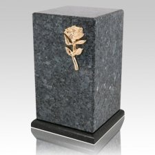 Grande Blue Pearl Granite Cremation Urns