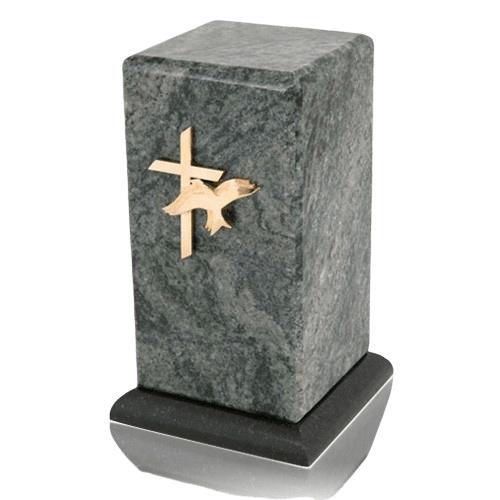 Stylus Vert Jade Granite Cremation Urn