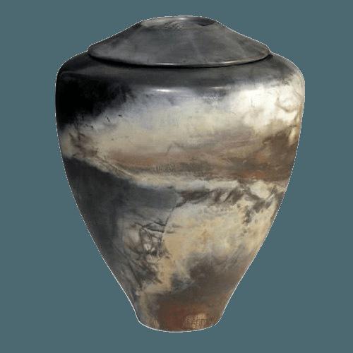 Springs Raku Cremation Urn