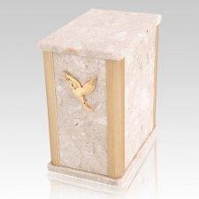 Solitude Perlato Marble Urn