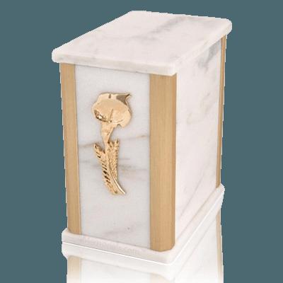 Solitude White Danby Marble Urn