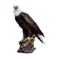 Perched Eagle Keepsake Cremation Urn