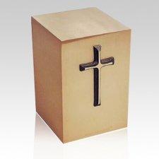 Sacred Bronze Cremation Urn