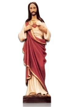 Sacred Heart of Jesus Medium Fiberglass Statues