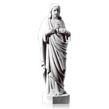 Sacred Heart of Jesus X Large Marble Statues