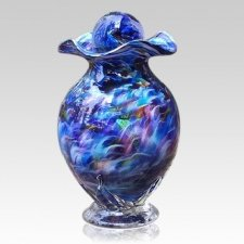 Sacred Rainbow Glass Cremation Urns