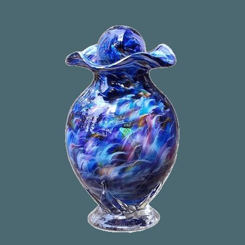 Sacred Rainbow Cremation Urn