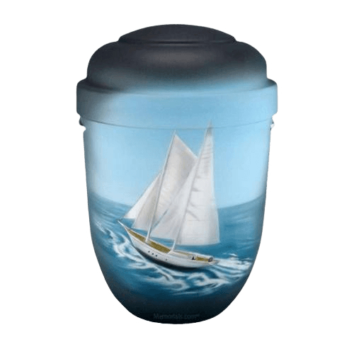 Sailing Biodegradable Urn
