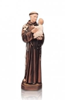 Saint Antonio Medium Fiberglass Statues