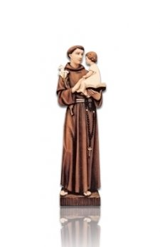 Saint Antonio Small Fiberglass Statues