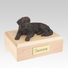 Saint Bernard Bronze Large Dog Urn