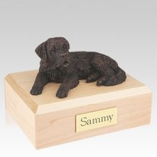 Saint Bernard Bronze Dog Urns