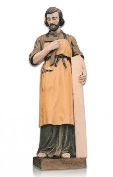 Saint Giuseppe Lavoratore Large Fiberglass Statues