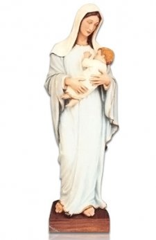 Saint Lady with Child X Large Fiberglass Statues