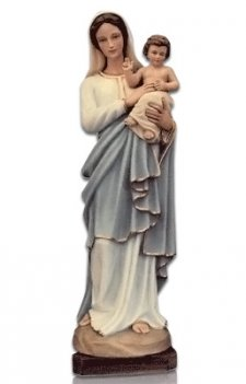Saint Lourdes with Child Large Fiberglass Statues