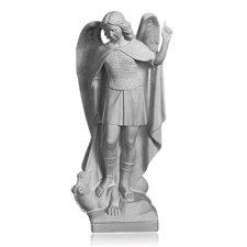 Saint Michael Marble Statue