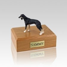 Saluki Small Dog Urn