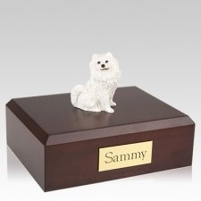 Samoyed Resting Dog Urns