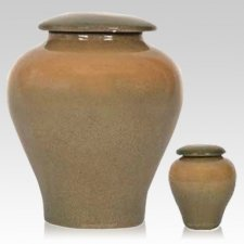 Sandy Shore Ceramic Cremation Urns