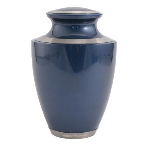 Sapphire Solaris Cremation Urn