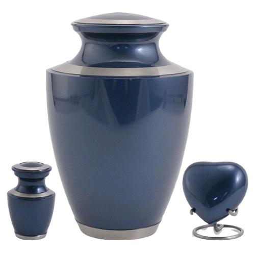 Sapphire Solaris Cremation Urns