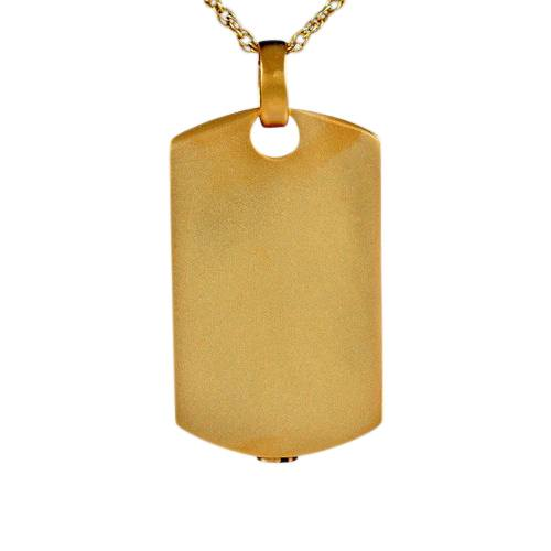 Dog Tag Keepsake Pendant II