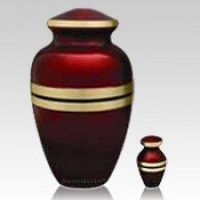Scarlet Cremation Urns
