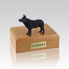 Schipperke Medium Dog Urn