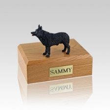 Schipperke Small Dog Urn