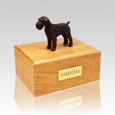 Schnauzer Black Large Dog Urn
