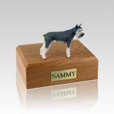 Schnauzer Giant Gray Medium Dog Urn