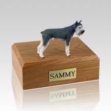 Schnauzer Giant Gray X Large Dog Urn