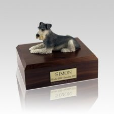 Schnauzer Medium Dog Urn