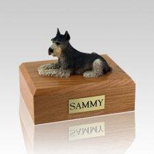 Schnauzer Tari Large Dog Urn