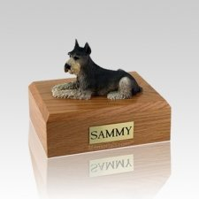 Schnauzer Tari Medium Dog Urn