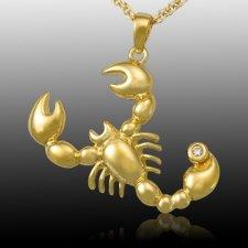 Scorpio Zodiac Cremation Pendant II