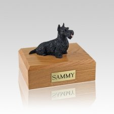 Scottish Terrier Black Small Dog Urn