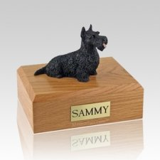 Scottish Terrier Black X Large Dog Urn