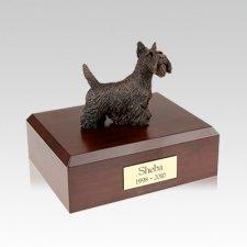 Scottish Terrier Bronze Medium Dog Urn