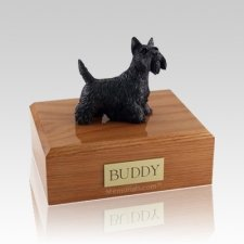 Scottish Terrier Standing Large Dog Urn