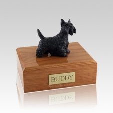 Scottish Terrier Standing Medium Dog Urn